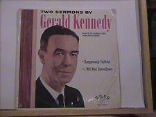 GERALD KENNEDY 2 SERMONS WORD LP # 3245 BISHOP L A AREA METHODIST UNUSEDCHURCH