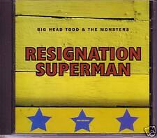 Big Head Todd & the Monsters Superman PROMO CD Single