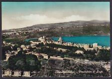 ROMA CASTEL GANDOLFO 16 Cartolina FOTOGRAFICA viaggiata 1958