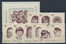 Ruanda 992/1000 Bl. 86 postfrisch / Jahr des Kindes ............................