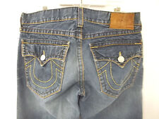 Mens True Religion Joey Big T Jeans Size 36X31 100% Cotton Made In The U.S.A.