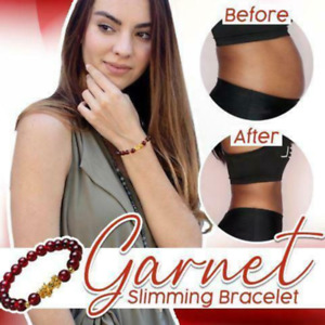 Garnet Slimming Bracelet Red Garnet Gems Hand Chains NEW