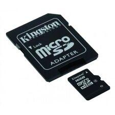 KINGSTON 16 GB ad alta capacità Micro SD con Adattatore SD, Classe 4