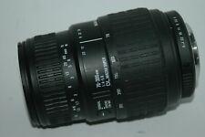 SIGMA DL MACRO SUPER 70-300 MM ZOOM LENS. PENTAX P/K-A AF BAYONET   FITTING :