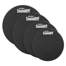 Evans SoundOff Fusion Tom/Snare Mute Pack 10/12/14/14