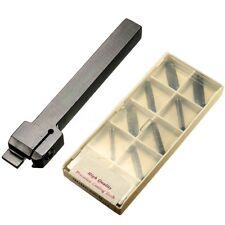 MGEHR1212-3 Abstechstahl 12x12 Drehmeißel Klemmhalter + 10x MGMN300 Wendeplatten