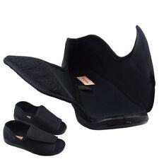 Мужские диабетическая тапочки экстра широкие регулируемые опухшие ступни отек комфорт сандалии