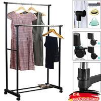 Metall verstellbare Kleiderständer Wäscheständer Kleiderstange Einzelschienen DE