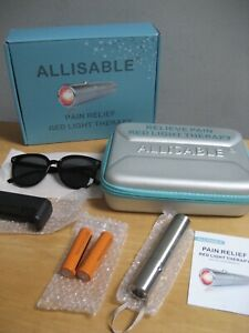 New Allisable Pain Relief Red Light Therapy Kit