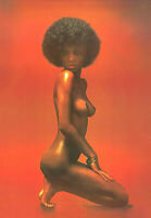 "The Shining Nude Black Woman Afro Dick Halloran- 17"" x 22"" Fine Art Print -00259"