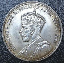 CANADIAN GEM 1935 - $1 DOLLAR - .800 SILVER - George V - Voyageur -Gorgeous Coin