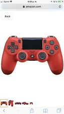 DualShock 4 Wireless Controller for PlayStation 4 - Magma Red by Sony