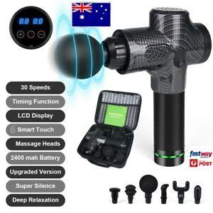 High Power Massage Gun Deep Massager Muscle GYM Vibrating  Xl carry case bag