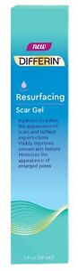 NEW Differin Resurfacing Scar Gel (1 oz.) - Brand New in Box Unopened