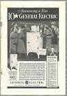 1933 General Electric Refrigerator advertisement, MONITOR-TOP & flat top fridge photo