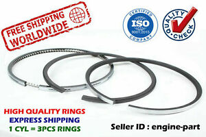 Piston Rings Set 104mm STD for FIAT IVECO FT60