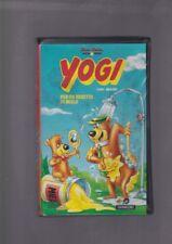 VHS film YOGI Per un vasetto di miele 1993 animazione RCS PANARECORD barbera
