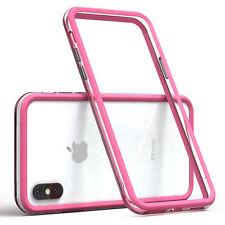 Bumper für Apple iPhone X / XS Case Wallet Schutz Hülle Cover Pink