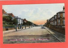 More details for saltcoats caledonia road from plantation overprinted pc used 1907 ref u580