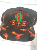 Albuquerque Hot Air Balloon Fiesta Festival Ball Cap Embroidered chilis