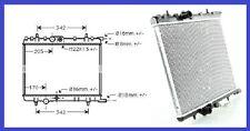 Radiateur d'eau Peugeot 307 1.4 HDi - 1.6 i 16V - 2.0 i 16V