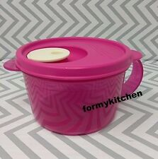 Tupperware Crystalwave Microwave Soup Mug Pink New!!!
