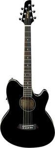 Ibanez TCY10E-BK Talman Electro Acoustic Guitar, Black (NEW)