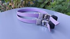 VINTAGE NOS MTB / ROAD Nylon Pedal Toe Straps / PURPLE /