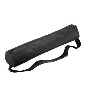 mantona Stativtasche schwarz 60cm, Polsterung, Seitentasche, Tragegurt