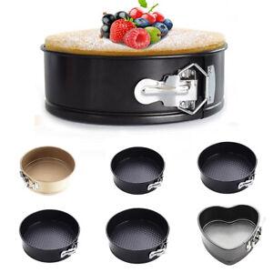 SpringForm Cake Storage Tins - Non-Stick Coating Pan Tray - Quick Release PICK