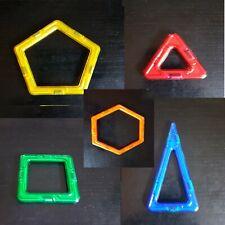 Magformers Ersatzteile Quadrat Dreieck Rad Sechseck Magnetspiel Magnetbausteine