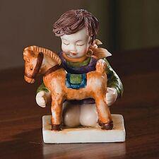 Deluxe Kinder Porcelain Figurine Boy With Horse Reg $26.00