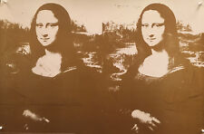 Andy Warhol - Two Golden Mona Lisas, 1980 - 1993 - Poster