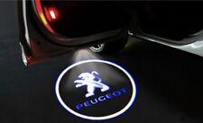 Kit Luci Logo PEUGEOT Proiettore sottoporta Led Cree Cortesia 5W 12V UNIVERSALE*