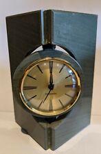 Green Slate Mantel Clock Mercedes Quartz Movement