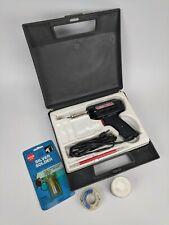 Weller 8200N 100w/140w Soldering Iron w/ Case Silver Solder Paste - TESTED