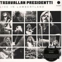 Tasavallan Presidentti - Live In Lambertland Black Vinyl  (2019 - EU - Original)
