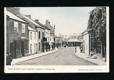 Somerset ILMINSTER East St Market St Used 1907 PPC local pub Coombes