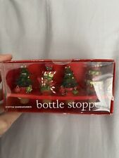Bottle Stoppers Wine And Party Accessories - Christmas Themed