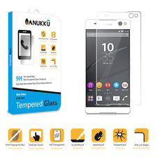 Real Tempered Glass Screen Protector Film Anukku For Sony Xperia C5 Ultra