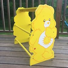 Care Bear Wooden Toy Rack Shelf Funshine Bear Those Characters From Cleveland