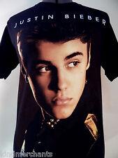 Justin Bieber Concert Shirt Pop Rock T-shirt 2012 Small