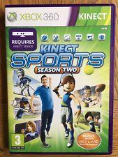 Kinect Sports Season Two (unsealed) - Xbox 360 UK Stock New!
