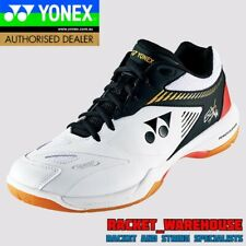 NEW YONEX POWER CUSHION SHB65X2 WIDE BADMINTON SQUASH INDOOR SHOES WHITE/BLACK