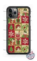 Christmas Classic Snowman Santa Phone Case Cover for iPhone 11 PRO Samsung LG