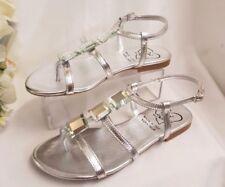 Sandalias y chanclas de mujer de color principal plata talla 37