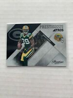 2010 JAMES JONES PRESTIGE PRESTIGIOUS PROS GREEN BAY PACKERS #23 BLACK /25