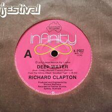 "RICHARD CLAPTON - - DEEP WATER - - 1977 Australian INFINITY 7"""