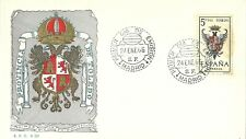 Spain 1966 First Day Cover - Shields Series - Toledo