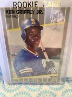 ken griffey jr rookie card Fleer 1989 #548